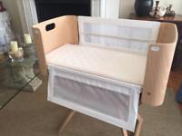 NCT original bedside crib conforming to 2015 standards