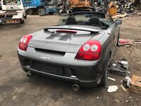 Breaking mr2 2003/4 roadster soft top parts
