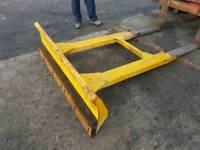 Forklift snow plough or grain pusher tractor telehandler etc