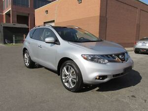 2013 Nissan Murano LE w/Leather, Heated steering, BOSE audio