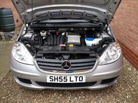 Automatic Mercedes A170, 2005, 51000 miles