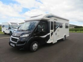 2015 BAILEY APPROACH AUTOGRAPH 765 6 BERTH MOTORHOME WITH ONLY 11K MILES ANDERSON MOTORHOME SALES