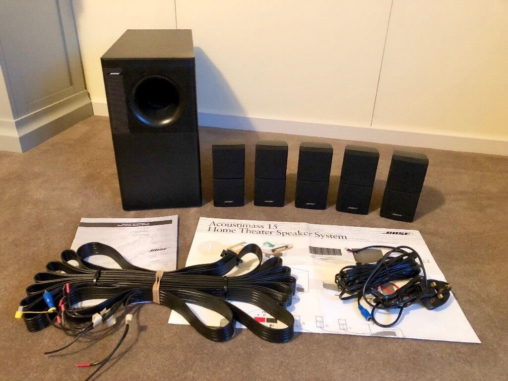 bose acoustimass 15 home theatre speaker system