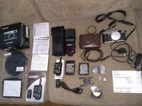 Fujifilm X100T 16.3MP Camera + Accessories