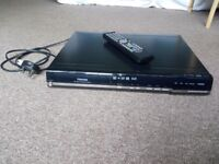 DVD HDD/DVD Video Recorder Toshiba Class 1 Laser Product with Remote Control