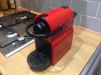 Nespresso Inissia Machine - Red