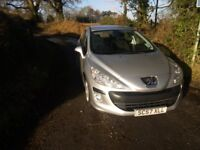 2008 PEUGEOT 308 1.6 HDi 5 Door. 11 months MOT, WELL MAINTAINED, EXCELLENT CONDITION.