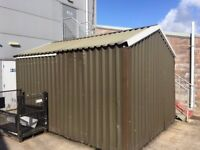 Aluminium clad insulated shed