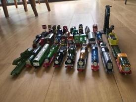 Tomas the tank engine ERTL DIECAST TRAINS