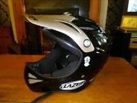 Lazer BMX helmet.