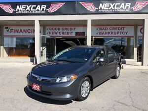 2012 Honda Civic LX 5 SPEED* A/C CRUSIE ONLY 137K