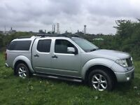 Nissan navara 2007/57 reg fully loaded sat nav leather etc new mot 129k no vat £4500