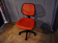 Swivel chair, great for kids. Is full size so adults too!