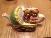 Bear tea pot
