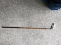Forgan The Leslie Putter St Andrews and Wooden putter