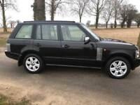04 54 Range Rover vouge 4.4automatic 12 months mot