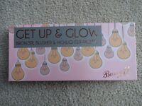 Barry M Get up and Glow blusher and highlighter palette (Brand New)