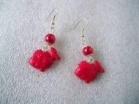 Orecchini In Fimo Fatti A Mano Pesciolino Rosso -  - ebay.it