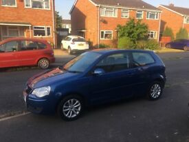 Volkswagen polo. 1.4s. 91k Miles. Private plate included. Great car
