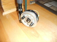 Canne moulinet a mouche Diawa#7, Fly fishing rod and reel