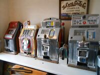wanted old one armed bandits allwins jukeboxs pinball machines