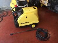 KARCHER HDS 601 HOT COLD PRESSURE WASHER STEAM CLEANER CAR TRUCK JET WASH 240V
