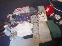 baby boys clothes bundle 6-9 mnths