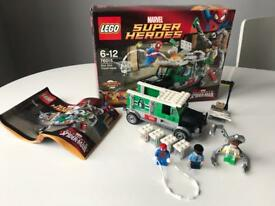 Lego Marvel Doc Ock Truck Heist Set 76015