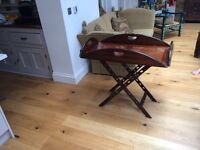 Beautiful Butlers Tray (possibly mahogany) Perfect for Living Room