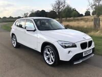 2012 BMW X1 SE 2.0 SDRIVE18D MANUAL DIESEL ALPINE WHITE | FULL SERVICE | ADD. SET OF TYRES & ALLOYS