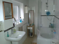 Spacious apartment with character.Huge double bedroom, lounge, kitchen , new bathroom , city 5 mins