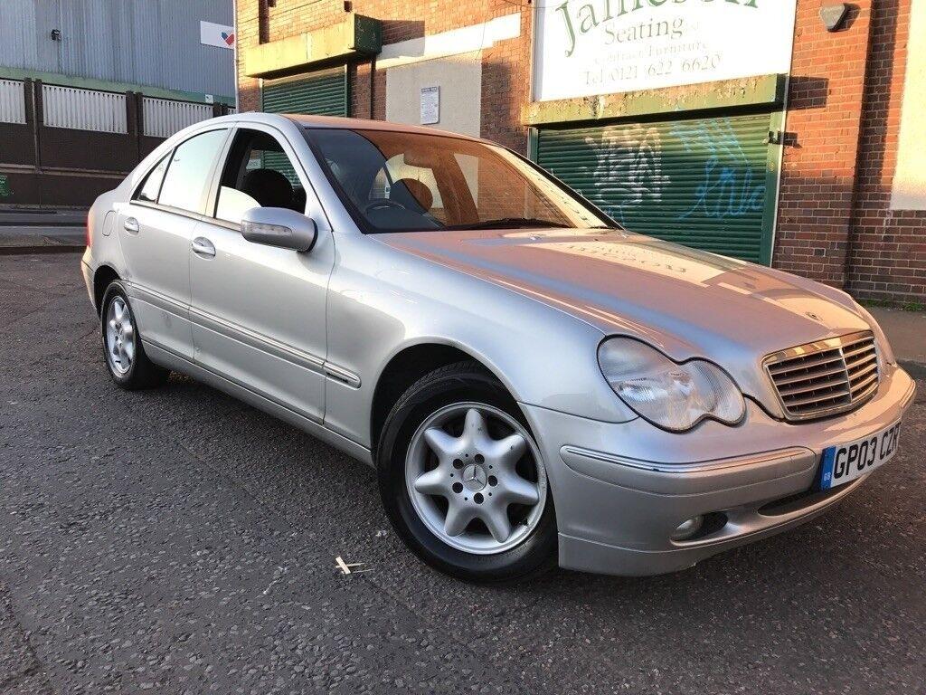 Mercedes-Benz C Class 2003 2.1 C220 CDI Elegance SE 4 door ...