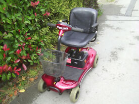 Sterling Pearl mobility scooter, 21 stone user weight, easily disassembles, good