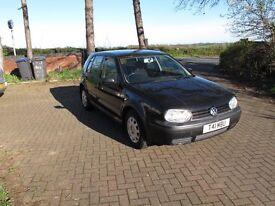 For Sale - VW Golf Mk4 Black