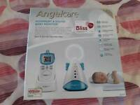 Angelcare monitor movement and sound baby monitor