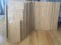 Kitchen Doors, Drawer Fronts, kitchen handles and door hinges