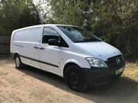 Mercedes VITO Panel Van 2012 Manual, 2143 (cc) 113 cdi Extra long wheel base