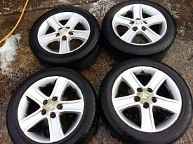 MAZDA ALLU. WHEELS205/55 R16 91V