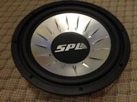 SPL Car Subwoofer Pair