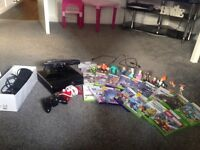 Xbox 360+Kinect + 17games,