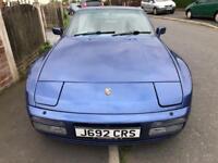 Porsche 944 S2 Manual full MOT CHEAPEST IN THE UK! 924 968 Blue 1991