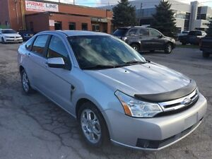 2008 Ford Focus SES/AUTO/LEATHER/ROOF