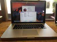 "Apple Macbook Pro 15"" Intel Core i5 2.4GHz 8GB Ram Pristine Condition Working 30 day Warranty!"