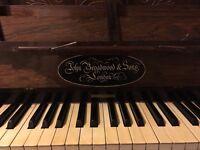 Beautiful Victorian Broadwood piano