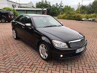 "2008 Mercedes C200 2.1 CDi Diesel - FSH - Full Mot - 18"" Amg Alloys - Hpi Clear - C220 A4 320d 520d"