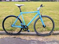 Blue Single Speed Road Bike /Fixie