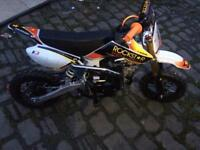 Small wheel 125cc pit bike *only used once*