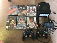 Nintendo GameCube console & 6 games