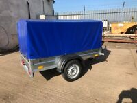BRAND NEW CAR TRAILER 6 X 4 WITH COVER 100CM.