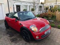 2012 (62) MINI COOPER CONVERTIBLE - ONLY 16500 MILES -HUGE SPEC - FULL SERVICE HISTORY - IMMACULATE